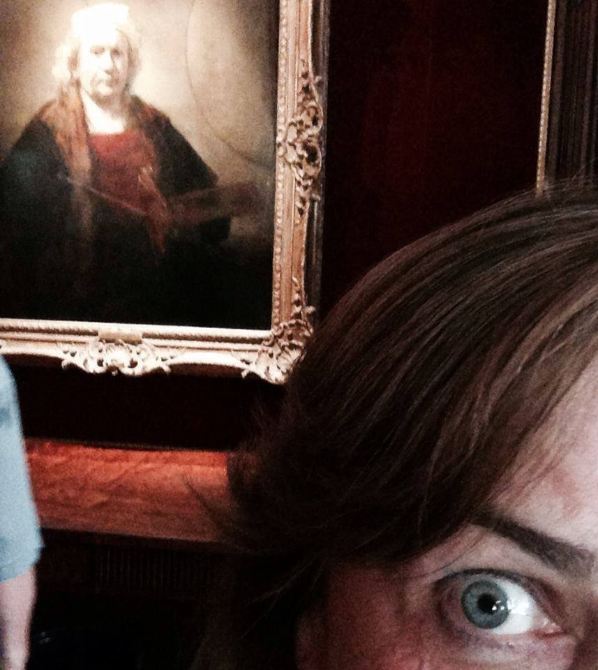 Mother of all selfies. Rembrandt van Rijn - Portrait of the Artist.